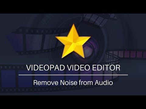 How To Remove Noise From Audio - VideoPad Video Editing Tutorial