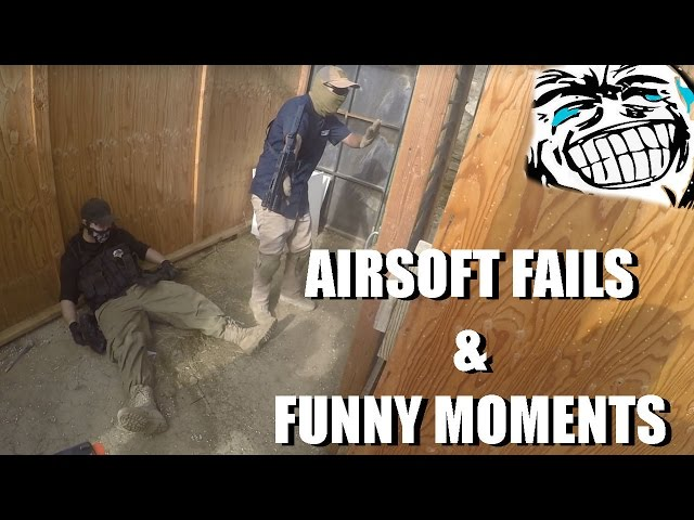 AIRSOFT FAILS & FUNNY MOMENTS Ep 3
