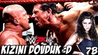 WWE 2K16 Türkçe Hikaye | Mc Mahonu öldürdük KIZINI DÖVDÜK | 1H7B | Ps4
