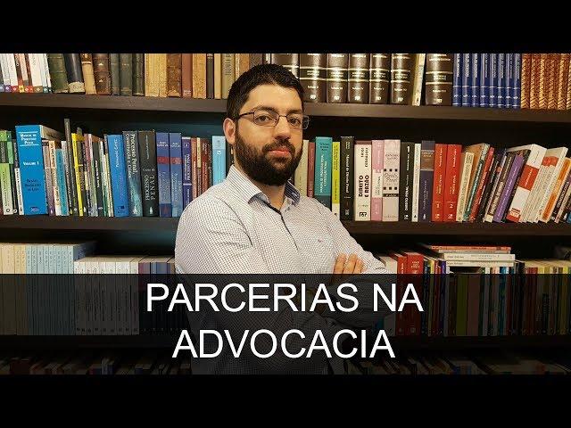 PARCERIAS NA ADVOCACIA | Evinis Talon