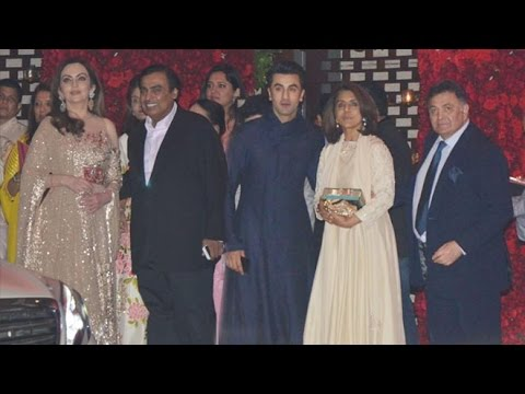 Ambani's Grand Party Inside House Antilla In Mumbai - Ranbir Kapoor,Hrithik Roshan,Jacqueline