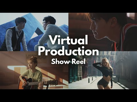 Virtual Production Show Reel (Unreal Engine In Camera VFX technology)