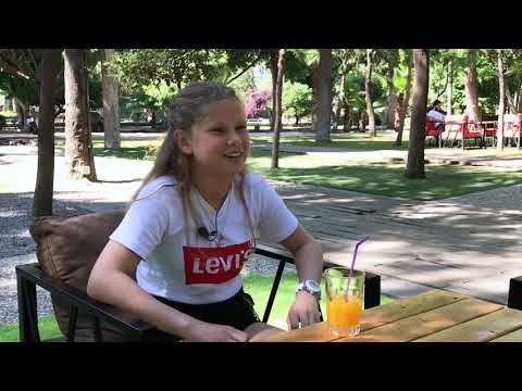 Интервью с Сафией // 5й класс турецкая частная школа Hedef
