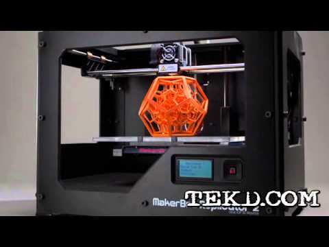 The MakerBot Replicator 2 and 2X for Prosumer 3D Printing ...