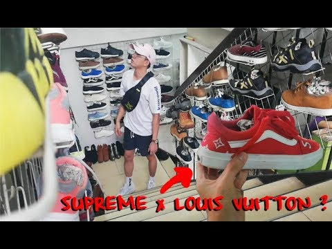 0aa42d2eece3 SUPREME x LOUIS VUITTON VANS sa UKAY   ( Ukay Ukay Shoes ) sta.mesa ...