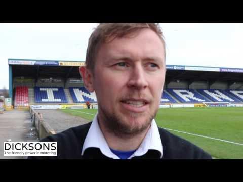 CaleyJagsTV : Richie Foran Match Reaction v Ross County : 18/03/17