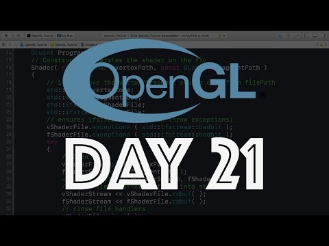 Creating A Modern OpenGL Game Engine - Day 21