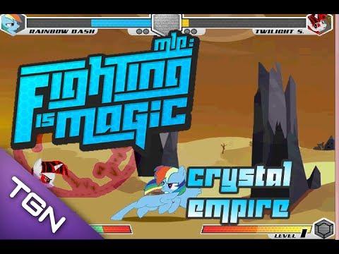 Fighting Is Magic: Fall Of The Crystal Empire (Rainbow Dash VS Evil Twilight)