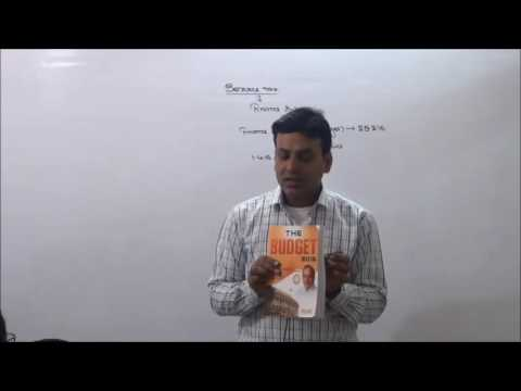 Indirect Tax : Service Tax : AY 17-18 : Lecture 1