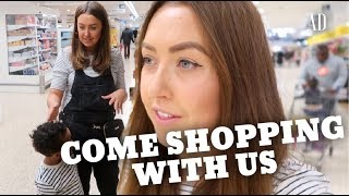 COME FOOD SHOPPING WITH US | DITL | AD