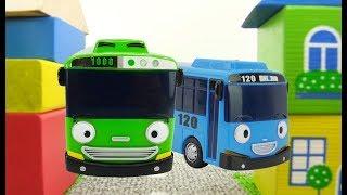 Мультики про машинки. Приключения автобуса Тайо. Видео для детей.