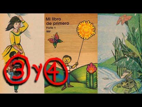 1983 - Libro de Primer Grado de Primaria - video 3 y 4