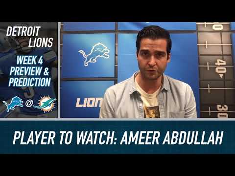 Detroit Lions can win in Miami if they protect the football