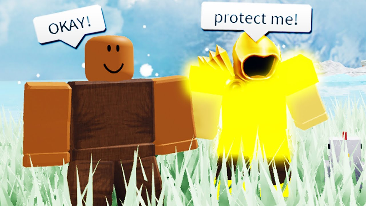 jim dah noob roblox So I Hired A Noob To Protect Me In Booga Booga Roblox Youtube