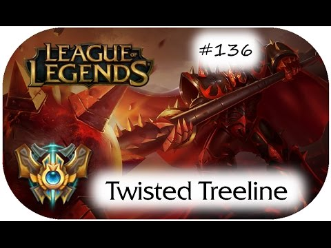 Deshalb bannt man Brand !!! - 3v3 Challenger Twisted Treeline - German - League of Legends [#136]
