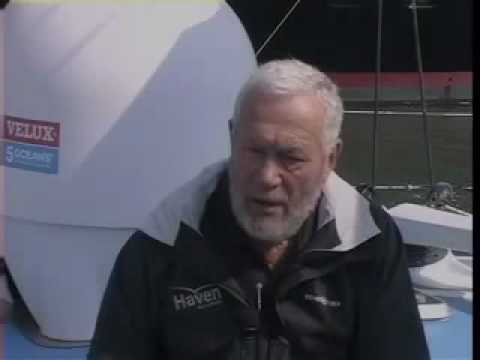 Sir Robin Knox-Johnston reveals his biggest challenge at sea
