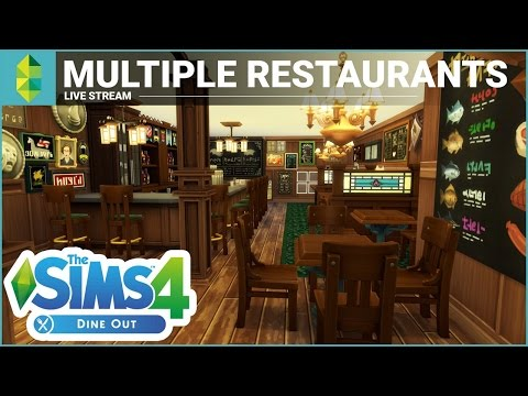 The Sims 4 Dine Out - Road to a 5 Star Restaurant!