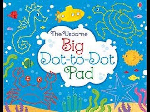 Usborne Books Big Book of Dot to Dot