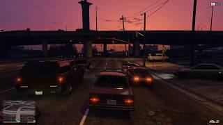 Grand Theft Auto V [Sunset Drive] GTX 1080ti Max. Settings 4K