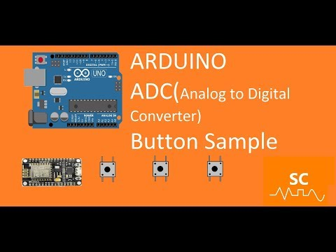 Arduino -Esp8266/ How to control 4 buttons with one Analog input.