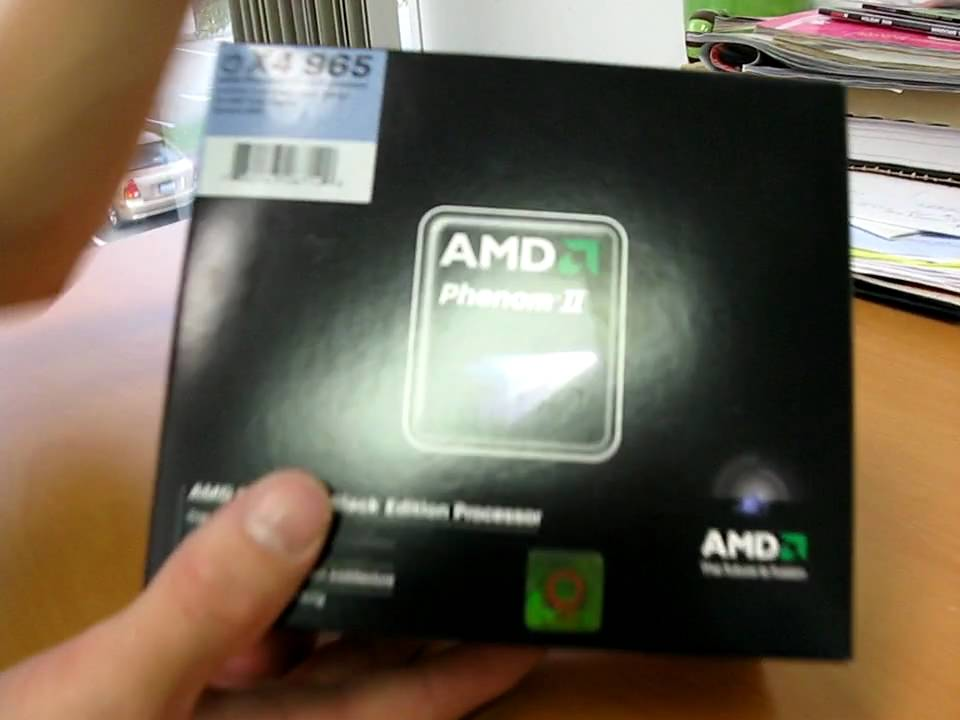 Amd Phenom Ii 965 Black Edition Quad Core Processor Unboxing Linus Tech Tips Youtube