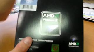 AMD Phenom II 965 Black Edition Quad Core Processor Unboxing Linus Tech Tips