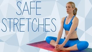 20 Minute Full Body Stretch for Pain & Flexibility | Safe Beginners Yoga Stretches with Lindsey