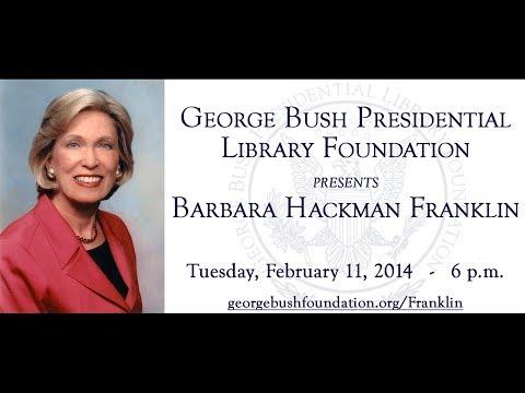 Secretary Barbara Hackman Franklin hosted by the George Bush Foundation