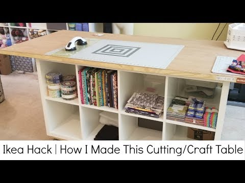 ikea-hack-|-how-i-made-my-cutting/sewing-and-crafting-table