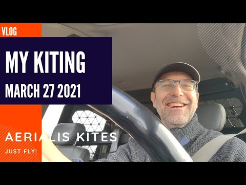 My Kiting - March 27th 2021 - Hunting for Wind