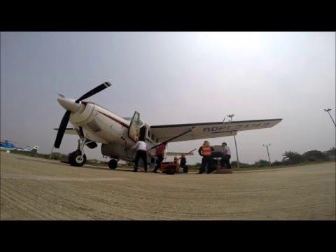 Lao SKyway Cessna c208 daily preflight check