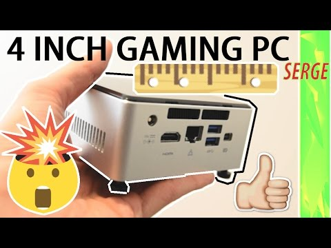4 inch Budget Gaming PC Build - How To Build a PC for Beginners 2017