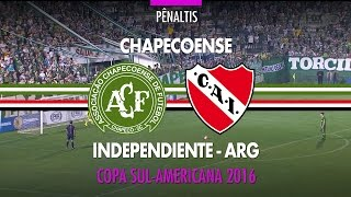 Pênaltis - Chapecoense x Independiente-ARG - Copa Sul-Americana - 28/09/2016