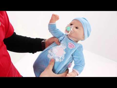Кукла Беби Анабель с мимикой мальчик 46 см Baby Annabell Zapf Creation 792827