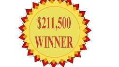 $211,500 WINNER Deuces Wild 10 Play Power Poker 4th Dec 2014