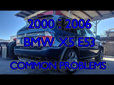 2000 - 2006 BMW X5 E53 common problems