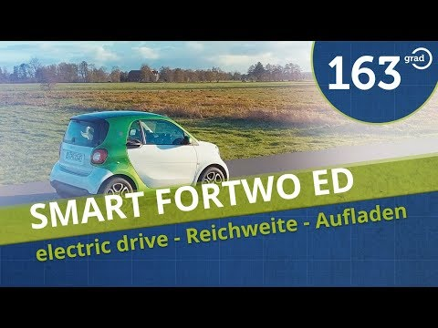 Smart fortwo electric drive Test in Hamburg - Reichweite, Au