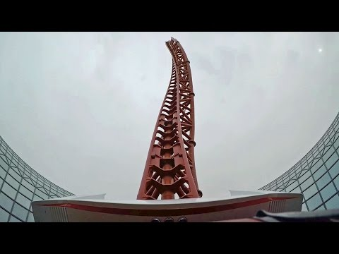 Turbo Track on-ride HD POV Ferrari World Abu Dhabi