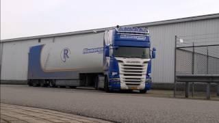 Scania R580 V8 Riemersma Streamline - Special (HD) + Brullen - Sound