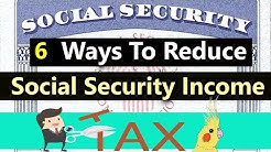 How to Reduce or Eliminate Taxes On Social Security Benefits! (How to Minimize Taxes In Retirement)
