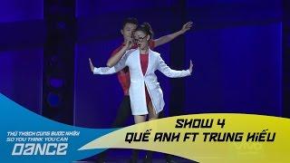 How Deep Is Your Love - Quế Anh & Trung Hiếu // Jazz funk - Show 4 - Thử Thách Cùng Bước Nhảy 2016