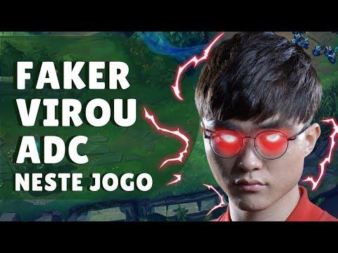 O LEAGUE OF LEGENDS VIROU OUTRO JOGO, NOVO CAMPEÃO DO FAKER thumbnail