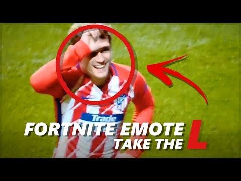 Fortnite: Antoine Griezmann   LOSER DANCE in FOOTBALL (Take the L - Emote)