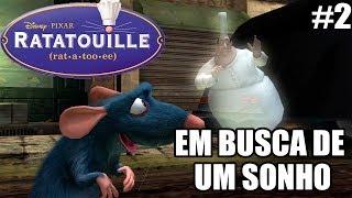 Ratatouille - Xbox 360 e PS2 - EM BUSCA DE UM SONHO - parte 2