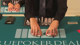 How to Deal Poker - How to Shuffle Cards(Brought to you by http://truepokerdealer.com. In this video, you will learn how to shuffle a deck of cards like a professional, casino dealer would learn in a poker ..., 2012-02-10T09:34:23.000Z)
