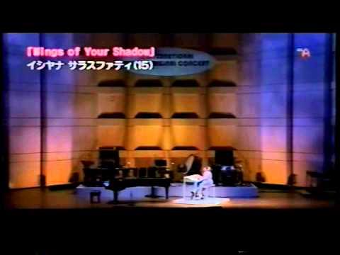 Isyana Sarasvati On Japanese TV Channel - IJOC 2008 (International Junior Original Concert)