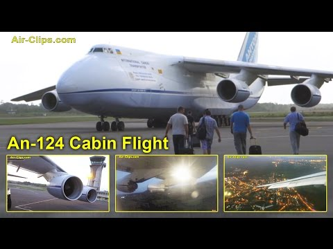 Antonov 124 Flight ADB 178 Series Part 4: Aboard a transatlantic cargo flight by [AirClips]
