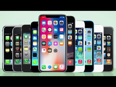 Все рекламы IPhone (от 2G до Xs Max)