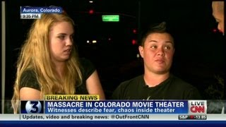 "Colorado shooting witness says:  ""he pulled a gun on me"""