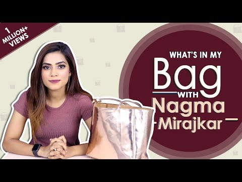 What鈥檚 In My Bag With Nagma Mirajkar | Bag Secrets Revealed | Exclusive